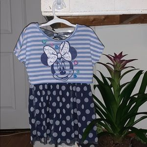 Minnie Mouse dress size xs 4-5.